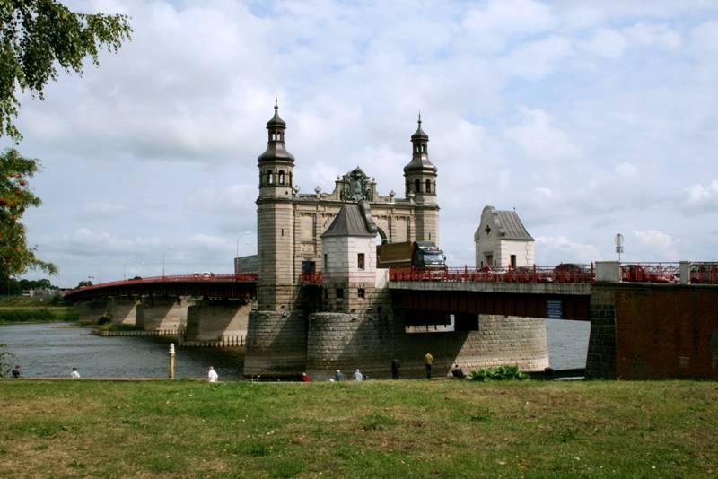 Красивая граница России и Литвы