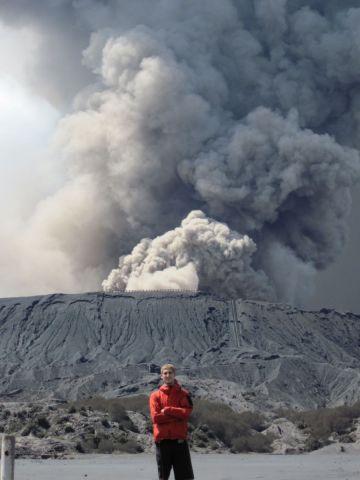 Извержение на Bromo