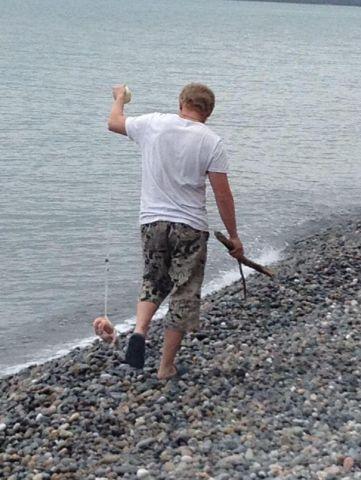 ловим крабов